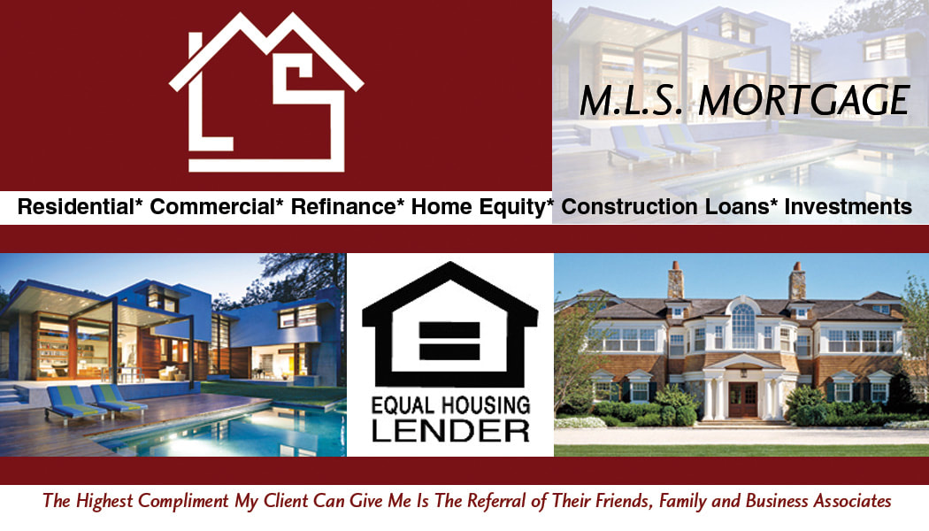 MLS Mortgage Company Realty Business Card Design Back